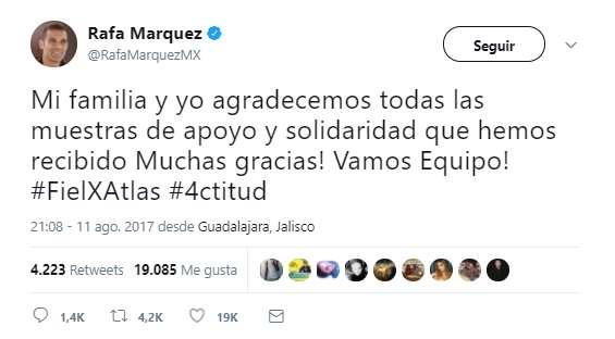 VENEZUELA: Esperan que Rafa Márquez aclare acusación