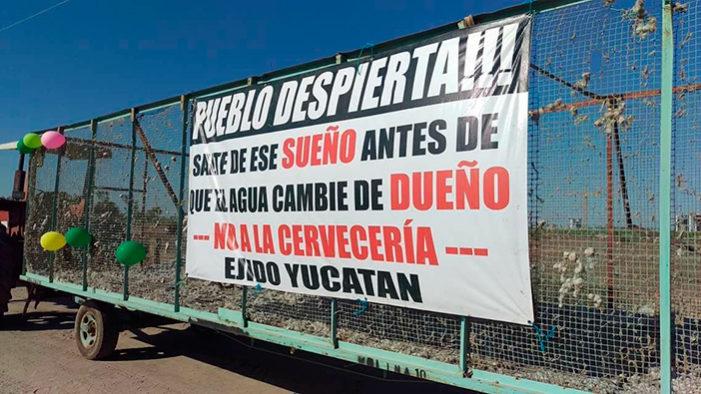 Juez admite demanda de amparo contra instalación de cervecera en Mexicali