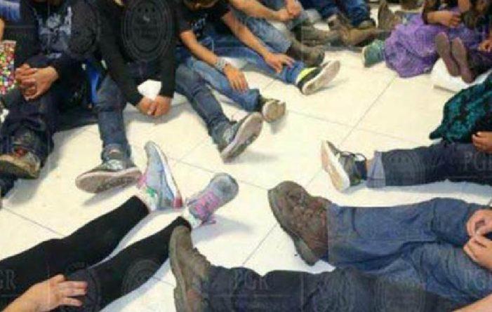 Rescatan a 133 migrantes hacinados en Tabasco, entre ellos 34 menores