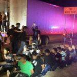 Hallan otro tráiler con 23 inmigrantes y más de 100 kilos de marihuana en Texas