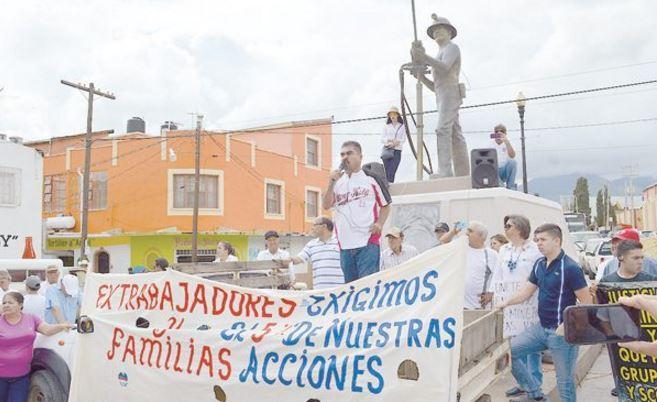 Mineros de Chihuahua exigen pago de acciones a Grupo México