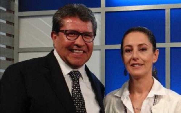 Monreal afirma que no discutirá con Sheinbaum, 'le mando un abrazo' (video)