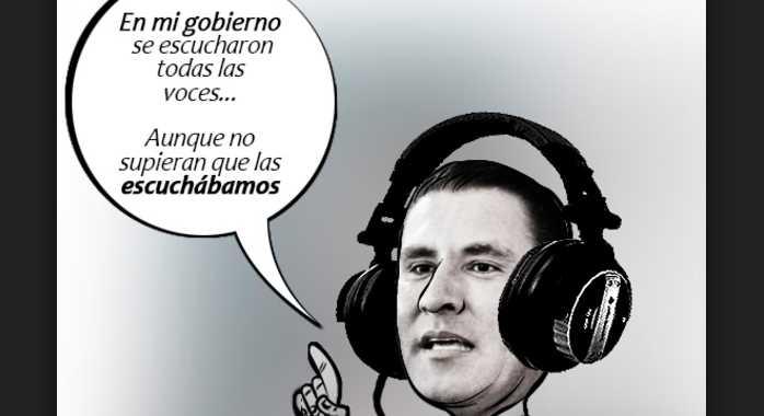Osorio Chong pide aplicar la ley a Moreno Valle por 'espiar' a Peña