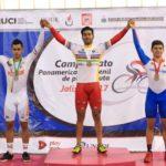 México obtiene oro y plata en ciclismo Panamericano juvenil