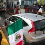 Protestas por los 43 normalistas desaparecidos tomaron casetas en tres estados