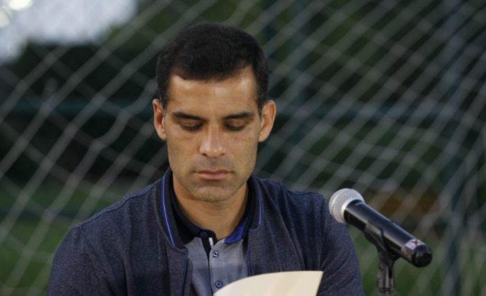 También suspenden cuentas de redes sociales de Rafa Márquez