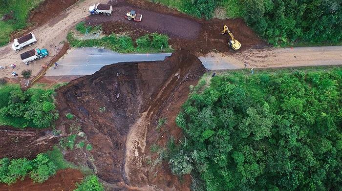 Reparación del socavón de Veracruz tardará meses