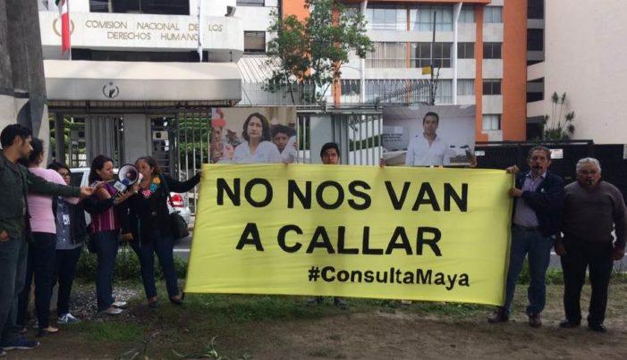 Comunidades mayas acusan intento de división en consulta sobre soya transgénica