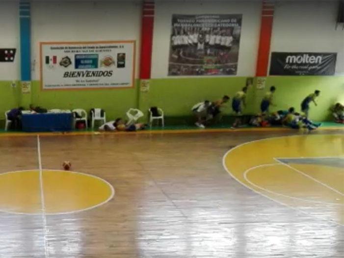 Tiroteo en Campeonato Nacional de basquetbol genera caos en Aguascalientes (VIDEO)