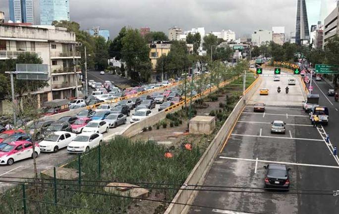 La CDMX pierde 35 mdp al año en productividad debido al tráfico