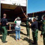 Hallan otro tráiler con migrantes abandonados en Texas