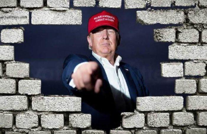 México es uno de los países más criminales, debemos tener el muro: Trump