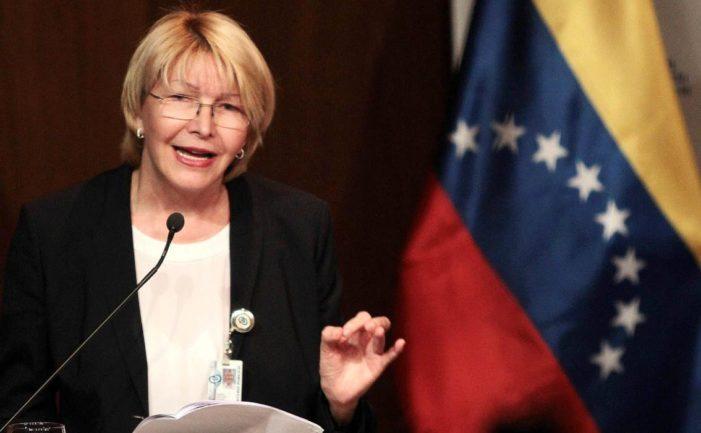 Fiscal general de Venezuela es destituida por Asamblea Constituyente