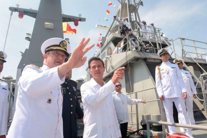 En tiempos de austeridad, Marina estrenará nueva patrulla de más de 6 mil mdp