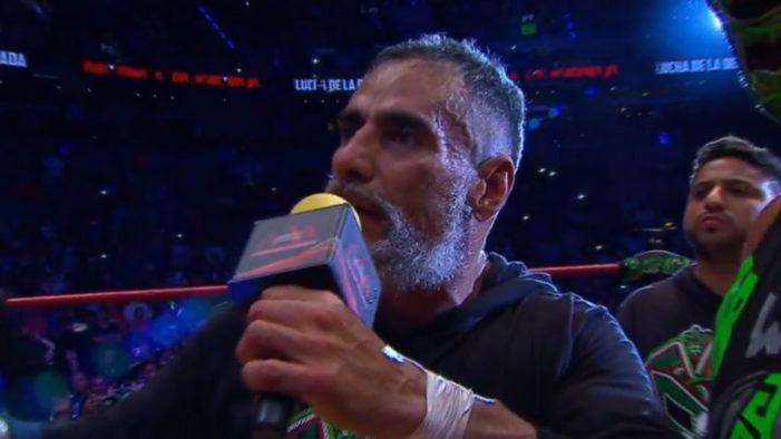 El luchador Dr Wagner pierde la máscara frente a Psycho Clown (VIDEO)