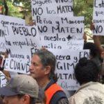 'No los maten': familiares claman al gobierno no meter maquinaria pesada en Álvaro Obregón 286