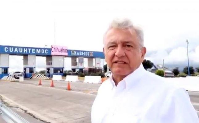 'En Chihuahua, Corral no dio el ancho, no hay programas productivos': AMLO (VIDEO)