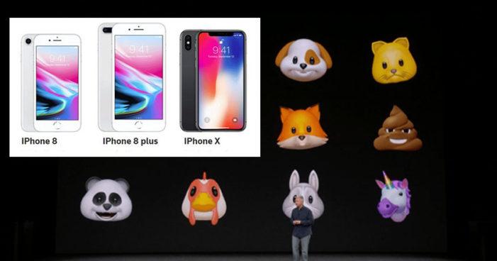 Apple lanza nuevo iPhone 8 y iPhoneX, con emojis animados