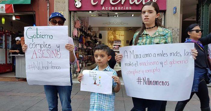 Así fue la manifestación #JusticiaParaMara #NiUnaMenos (Videos, imágenes)