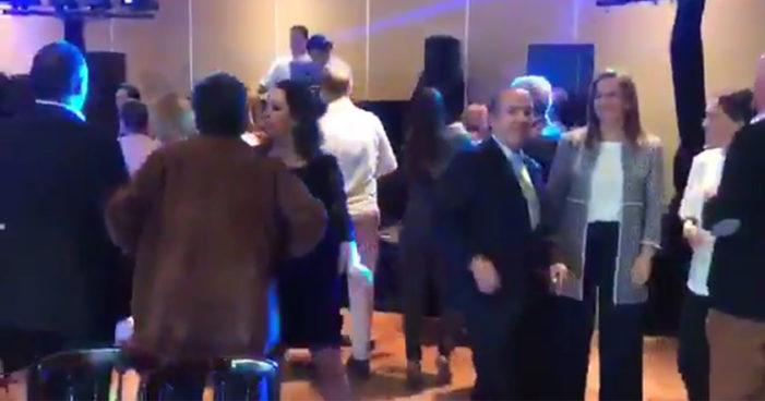 Captan a Zavala y Calderón parrandeando a cuatro días del sismo (Video)