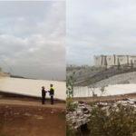 Colapsó puente vehicular que conectaría la Nueva Autopista Pirámides-Texcoco con el NAICM