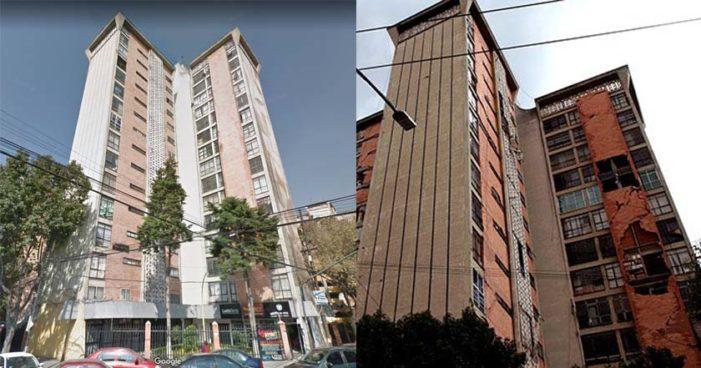Edificios en la Doctores en riesgo de colapso, fueron desalojados