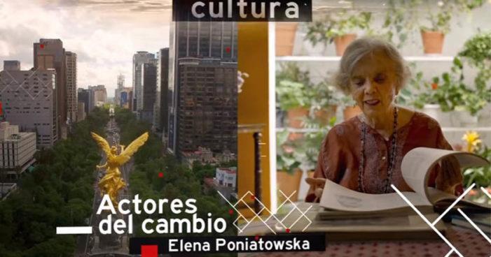 Elena Poniatowska se suma al proyecto de educación con Morena