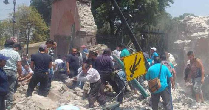 Estos son los daños reportados en delegación Xochimilco por el sismo