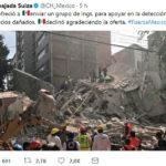 México rechazó ayuda de Suiza para detectar edificios dañados