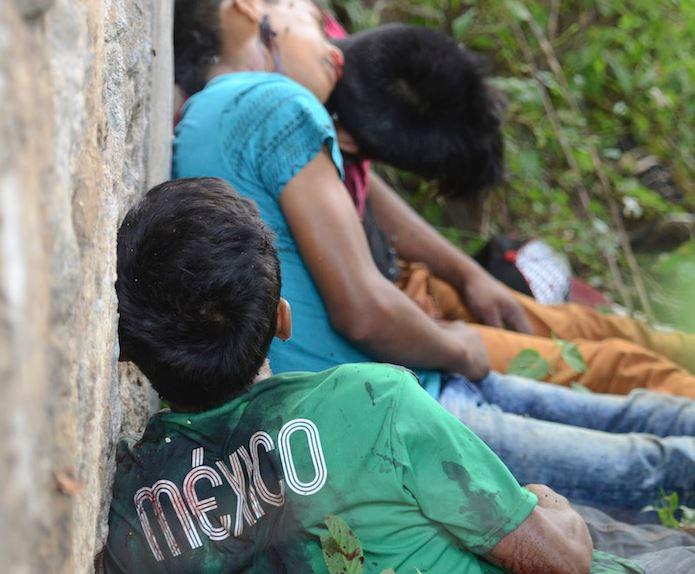 Fotografía de 3 ejecutados en Guerrero como la metáfora del país