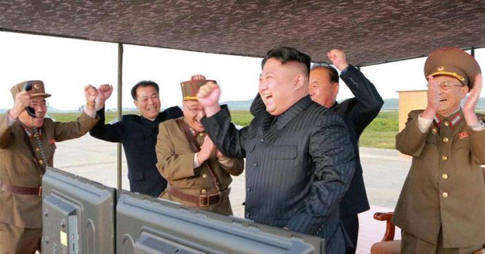 'Nuestro objetivo armamentístico es estar a la par con EU': Kim Jong-un