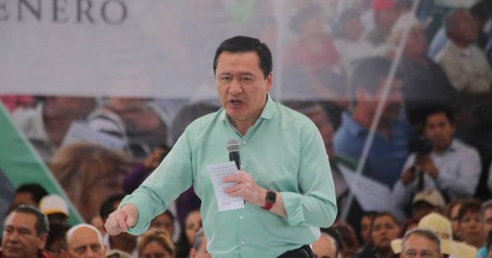 Osorio Chong hace chiste de mal gusto en evento contra violencia de género