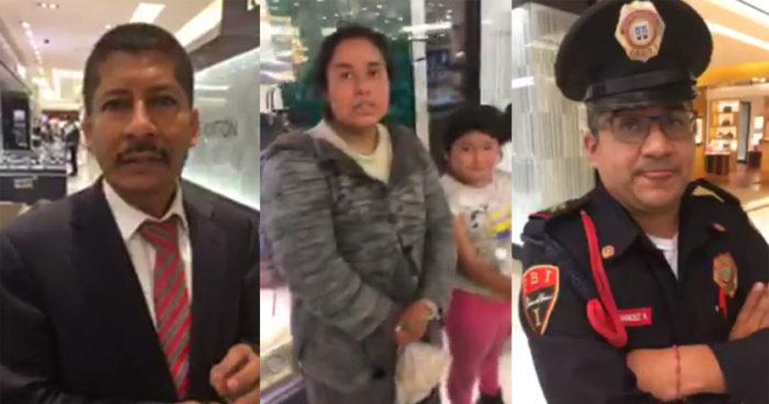 Palacio de Hierro expulsa a una familia por su apariencia (Video)