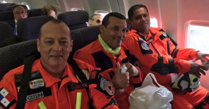 Panamá envía más de 30 rescatistas para ayudar en la Ciudad de México