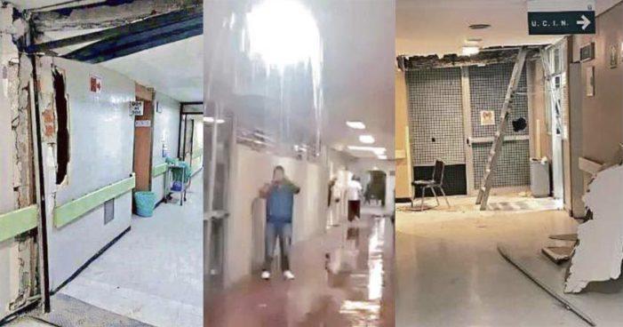 Personal de hospitales de IMSS reporta daños en instalaciones