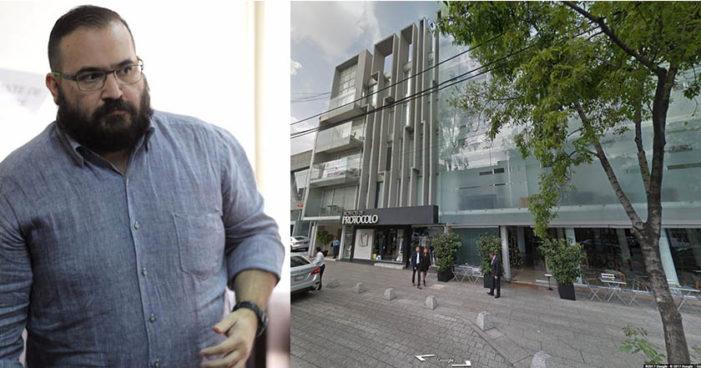 Red de prestanombres de Duarte tiene un edificio en Polanco