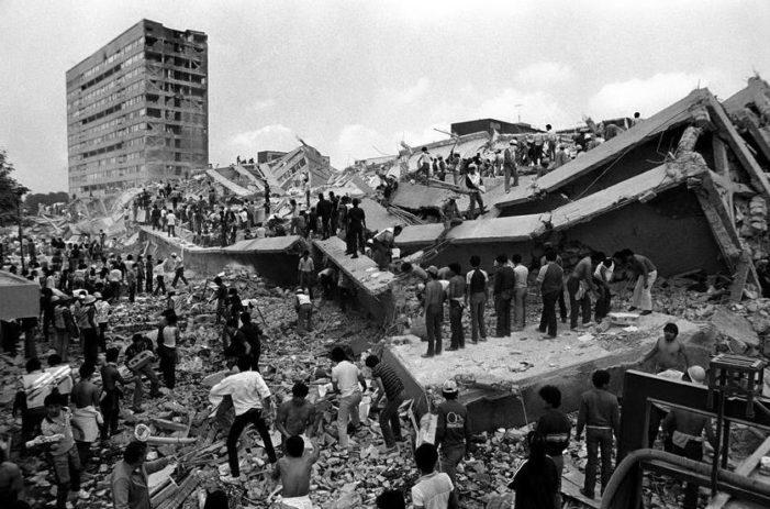 Hace 32 años, del dolor por la destrucción del sismo nació la sociedad civil