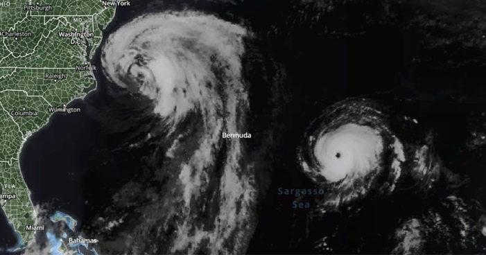 Tormenta tropical Lee se convierte en huracán categoría 3