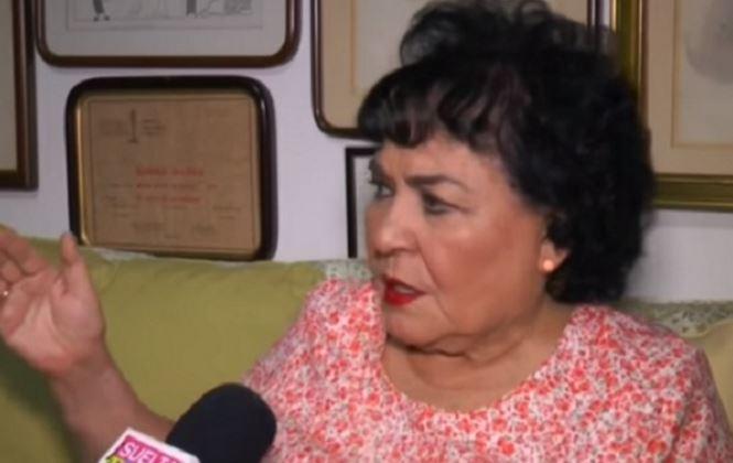 Carmen Salinas culpa a Kim Jong-un por el sismo, 'es por tanta bomba que avienta' (VIDEO)