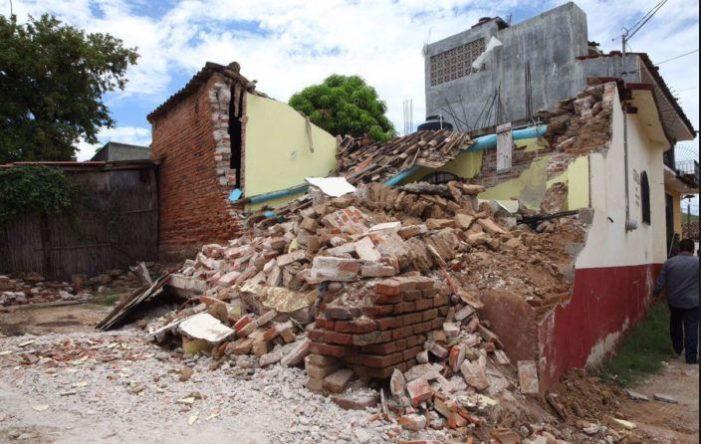 Suman 63 mil viviendas dañadas en Chiapas y Oaxaca por el sismo