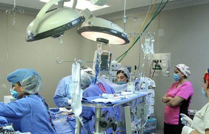 Realizaron cirugía a corazón abierto a niña de 5 años en pleno temblor