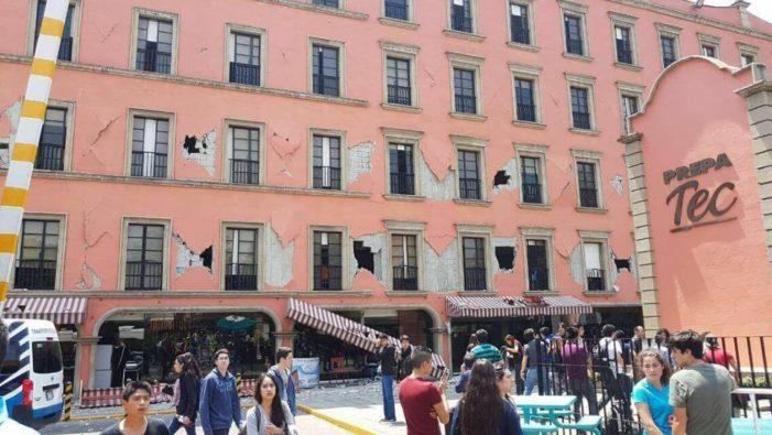 Por sismo, suspenden clases en varios estados del país