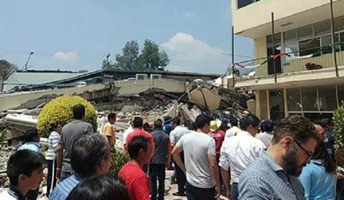 Ya van 20 pequeños muertos y 2 adultos en la escuela de Coapa