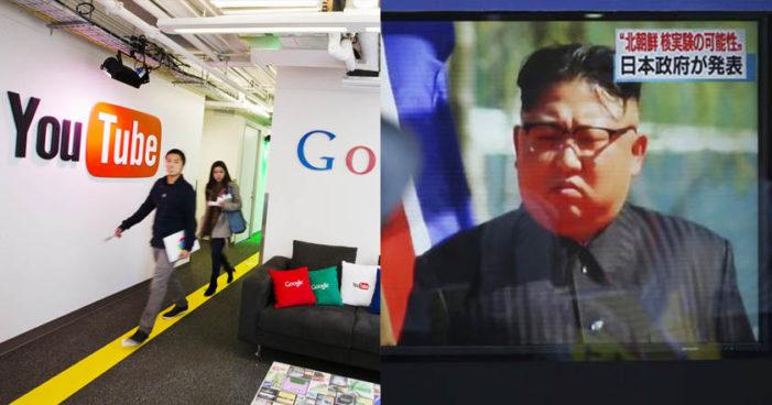 YouTube silencia a Corea del Norte; le borra dos canales