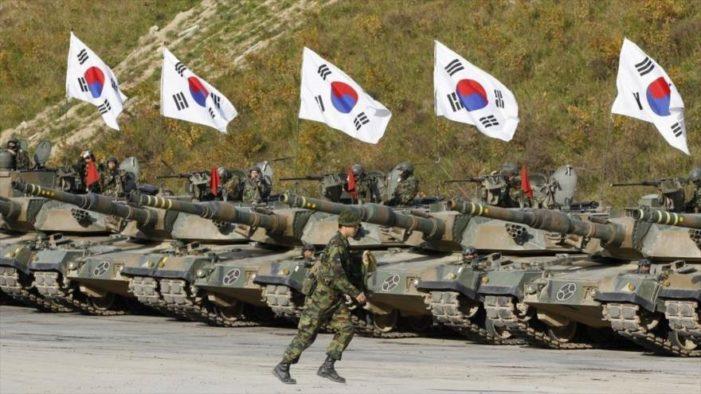 Corea del Sur responderá ante las provocaciones de Pyongyang, exhibe arsenal militar