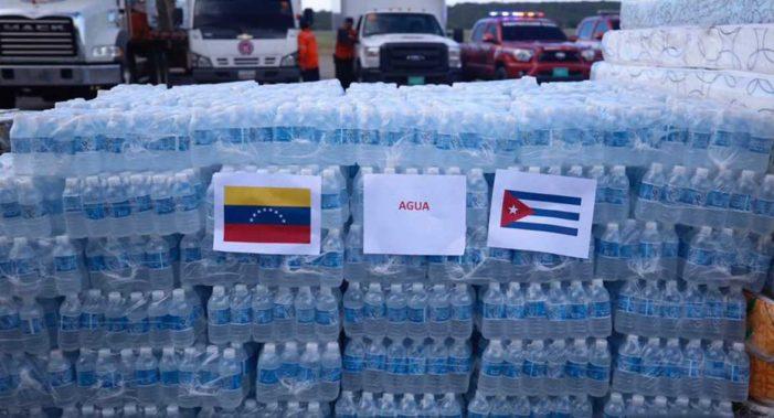 Venezuela envía personal y 10 toneladas de ayuda a Cuba por huracán 'Irma'