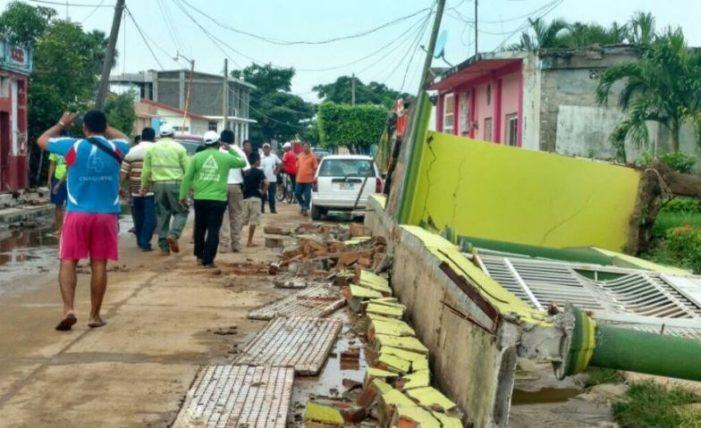 Hasta el momento se reportan 10 muertos en Chiapas por el temblor