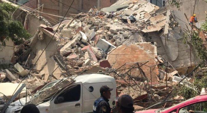 Se reportan 209 escuelas afectadas en la Cd. De México por el temblor: SEP