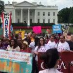 Realizan manifestaciones a lo largo de Estados Unidos en pro de los dreamers