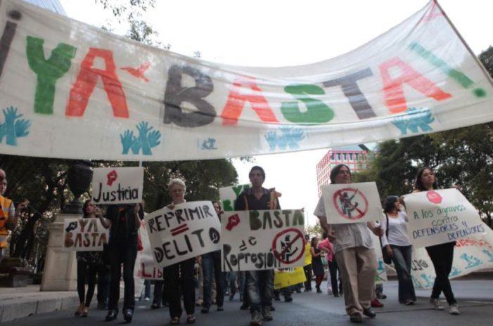 Suman 106 asesinatos de defensores de DDHH en el sexenio de Peña Nieto